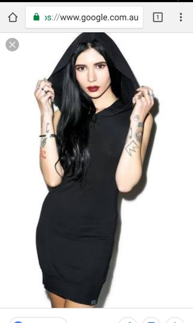 Killstar Hooded Dress