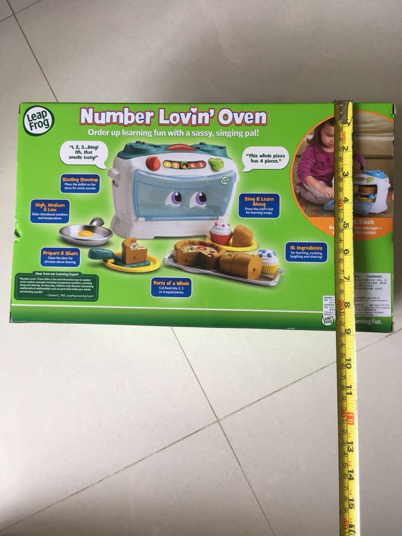 Leap Frog 焗爐煮飯仔玩具 全新 $99包順豐