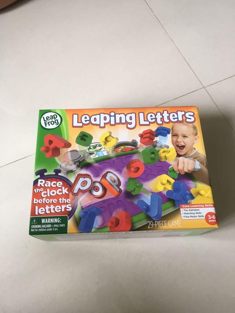 Leap Frog A-Z 玩具學字母 全新 $88 包順豐