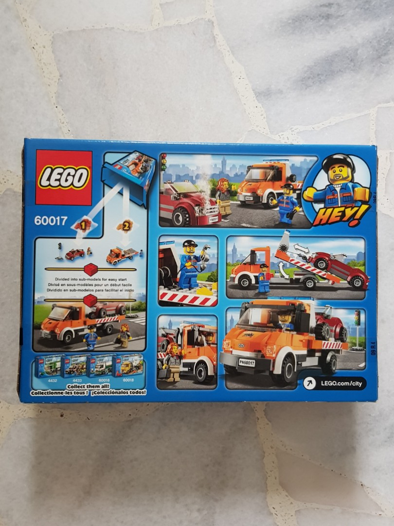 Lego 60017 City Series Flatbed Truck Toys Games Bricks