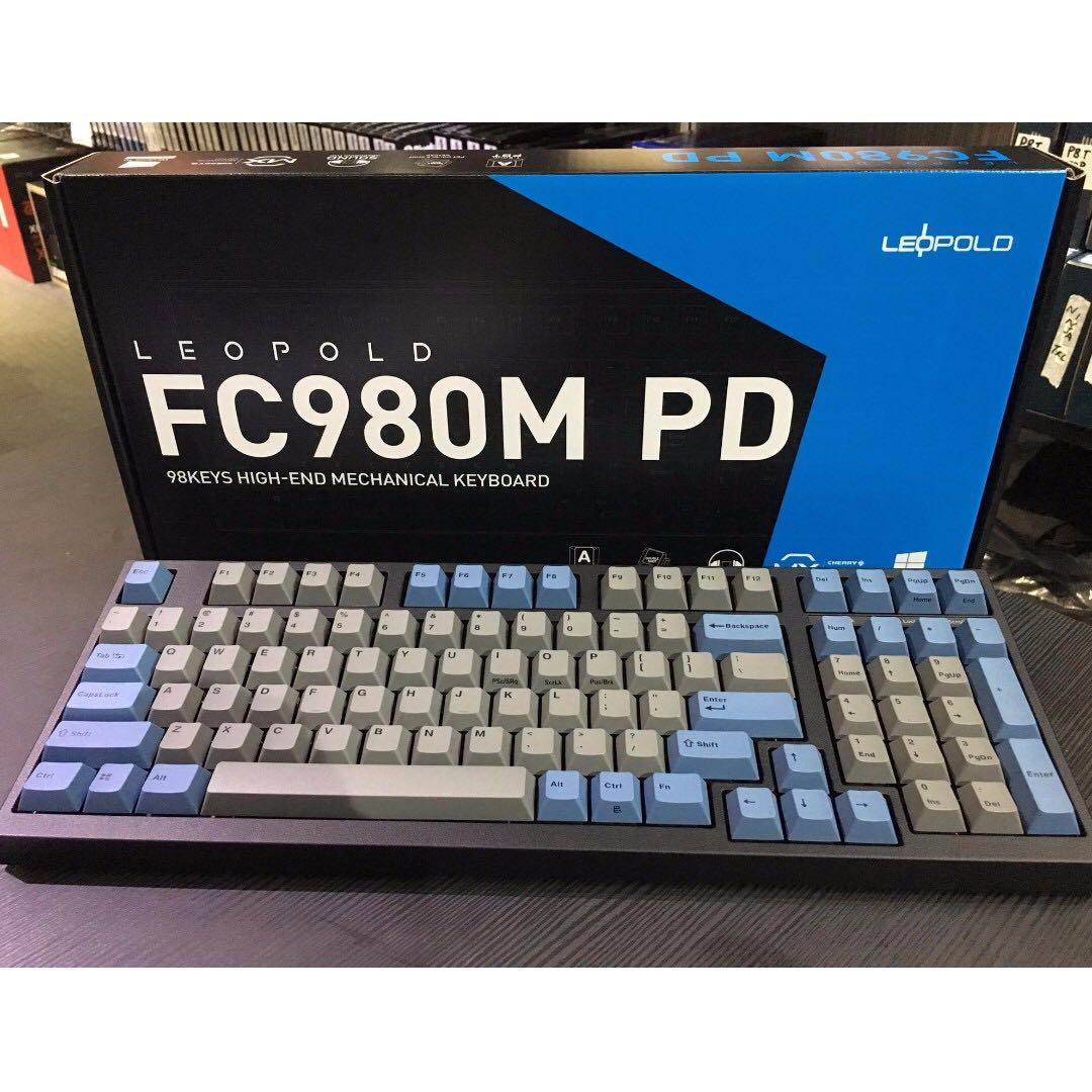 c2a65be7c7e Leopold FC980M Blue/ Grey, Electronics, Computer Parts & Accessories ...