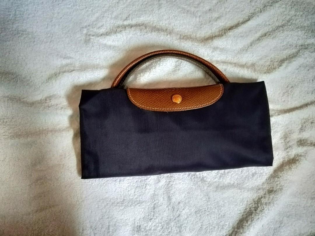 3c7d42695b0a Longchamp Le Pliage Travel Bag L Bilberry USED