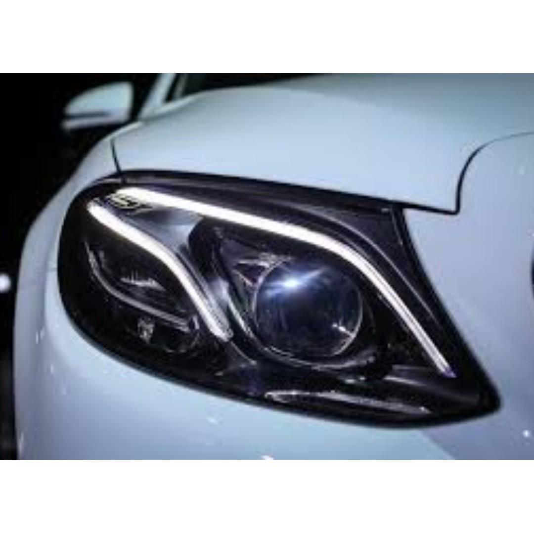 Mercedes Benz E-Class W213 Headlight Repair/Restoration/Overhaul