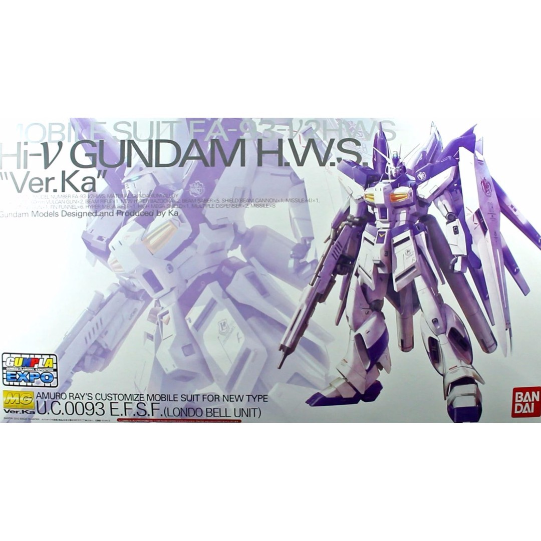 Mg 1 100 Hws Hi Nu Gundam Ver Ka Mechanical Clear Expo Hg Mechanics Dendrobium Toys Games Bricks Figurines On Carousell