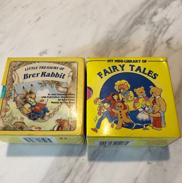 Mini library of Fairy Tales / Little Treasure of Brer Rabbit