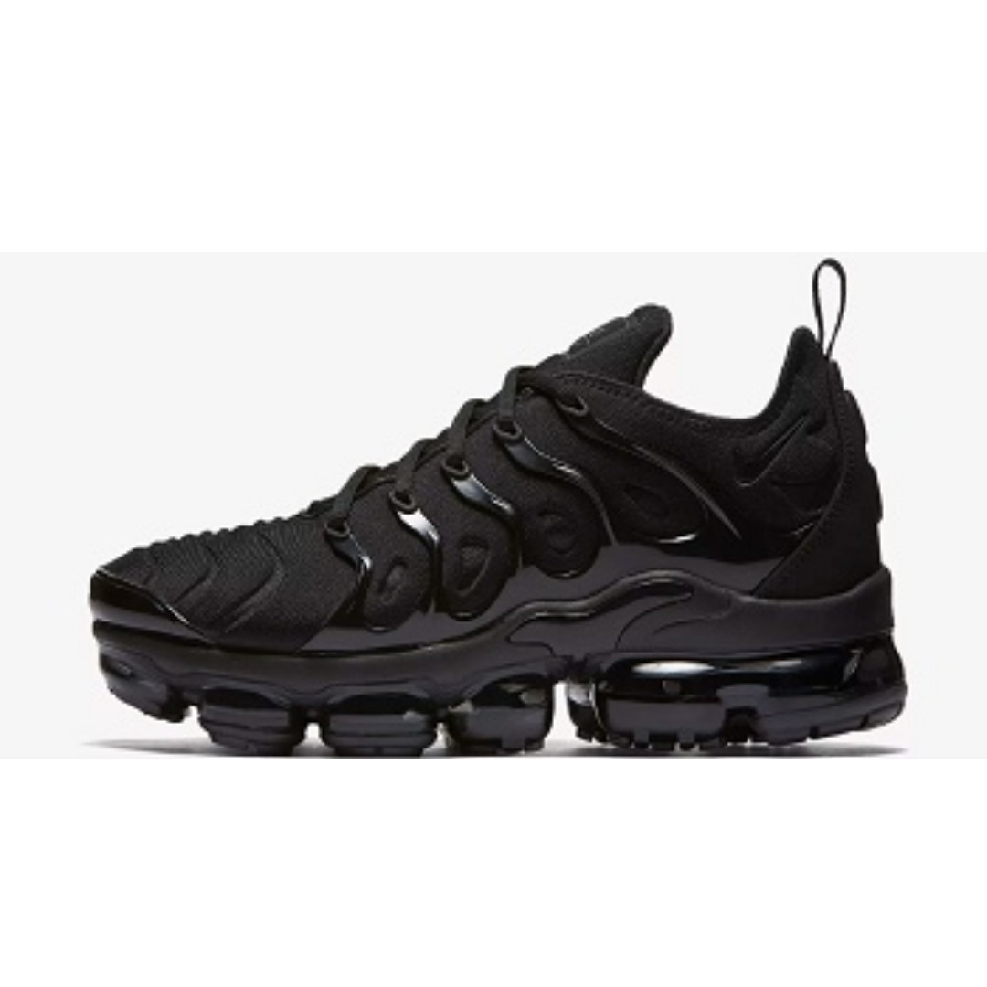 60d3a4efea0 Nike Air VaporMax Plus ( Black Dark Grey)