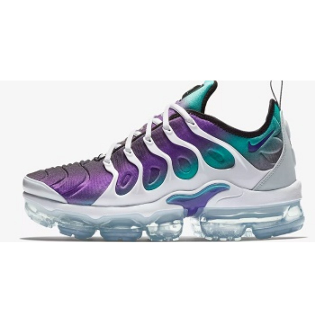 e4e626854b5 Nike Air VaporMax Plus ( White Aurora Fierce Purple)