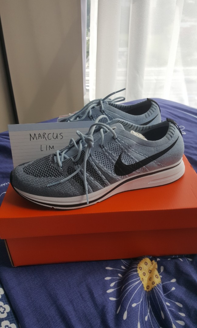a2d693524d958 NIKE Flyknit Trainer Cirrus Blue Us 12 fits Us 11.5