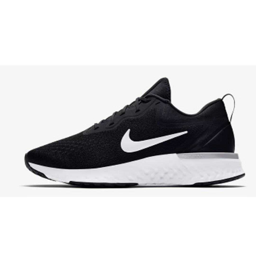 71c2c0341ec30 Nike Odyssey React ( Black/Wolf Grey/Dark Grey), Men's Fashion ...
