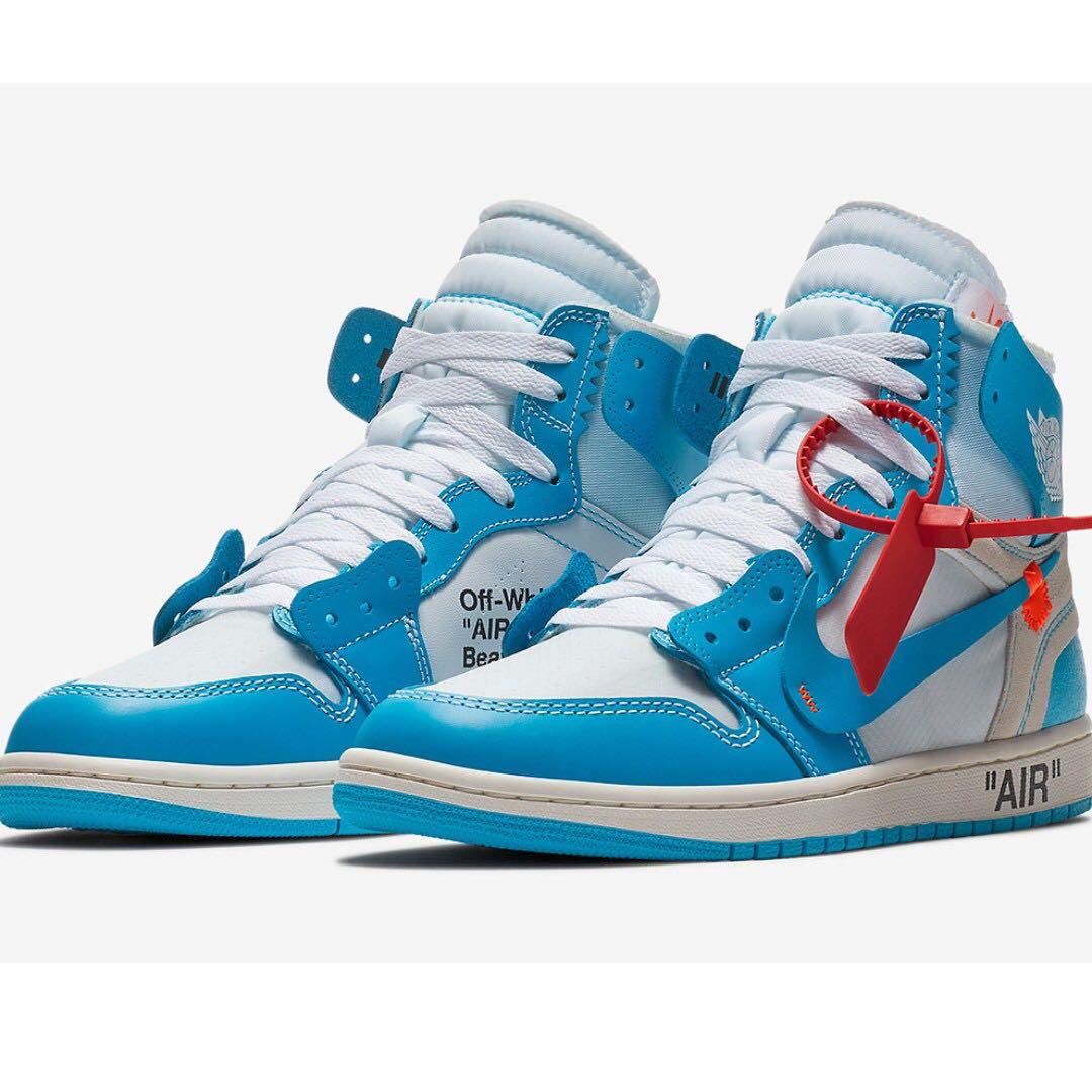a65f3b0e8ba10 Nike x Off-white Air Jordan 1 UNC
