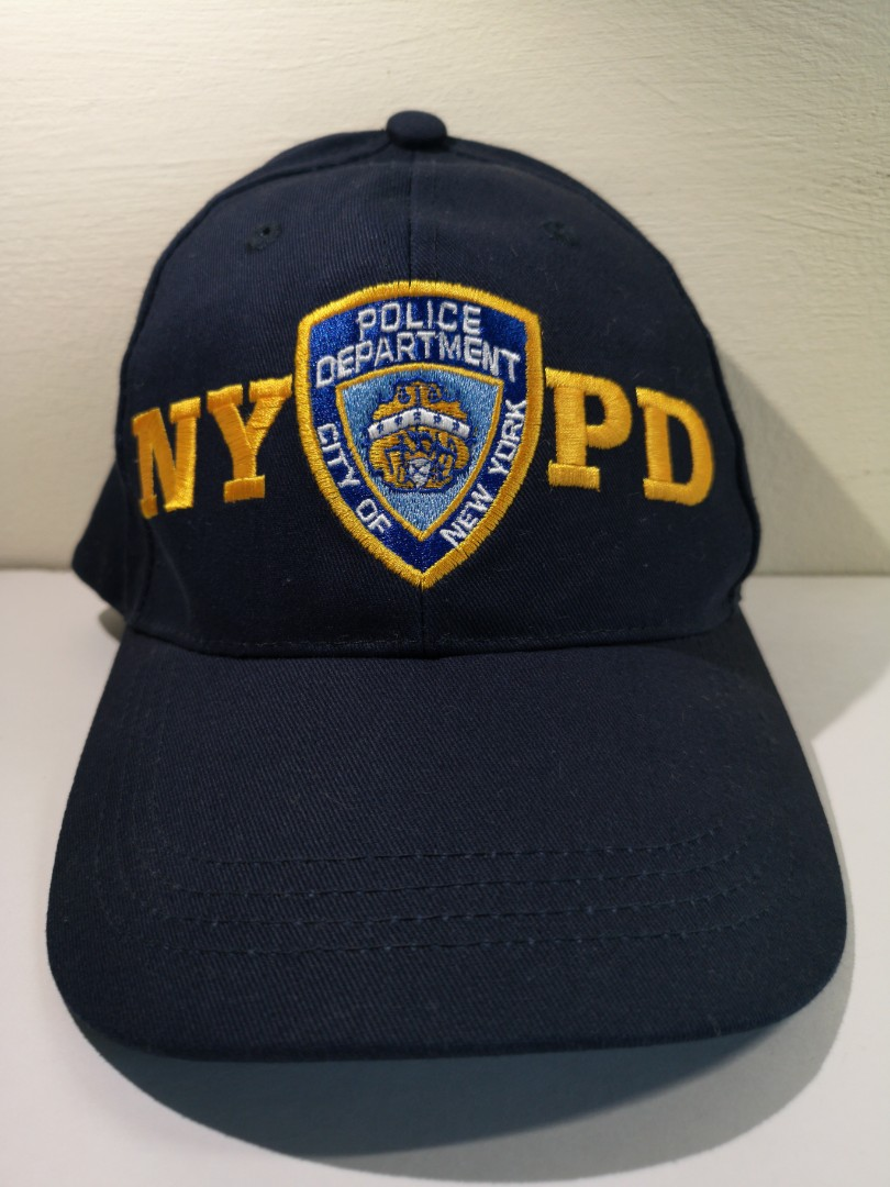 fc9494544 NYPD Cap, Men's Fashion, Accessories, Caps & Hats on Carousell