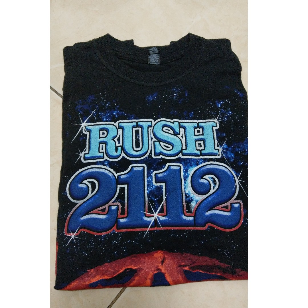 e6ed1ead5 Official RUSH 2112 T-Shirt, Men's Fashion, Clothes, Tops on Carousell