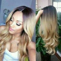 Ombre synthetic wigs