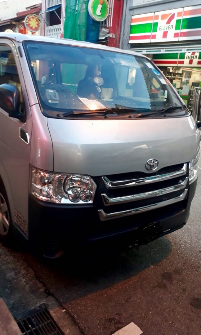 Panel Van Fully Glass With Rear Air-con monthly $1500/Deposit $1000
