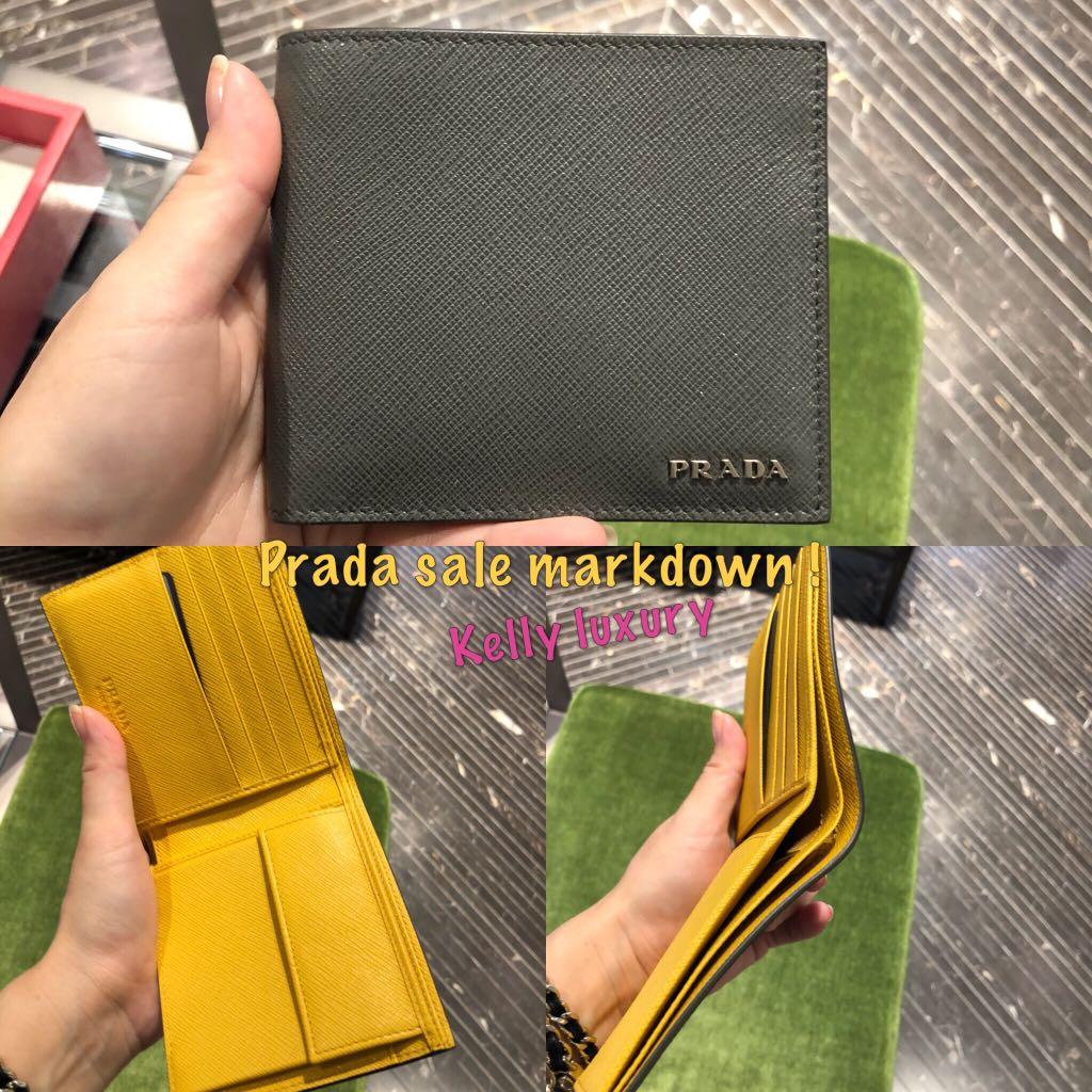 fc67ecd79b59 Prada man wallet, Men's Fashion, Bags & Wallets, Wallets on Carousell