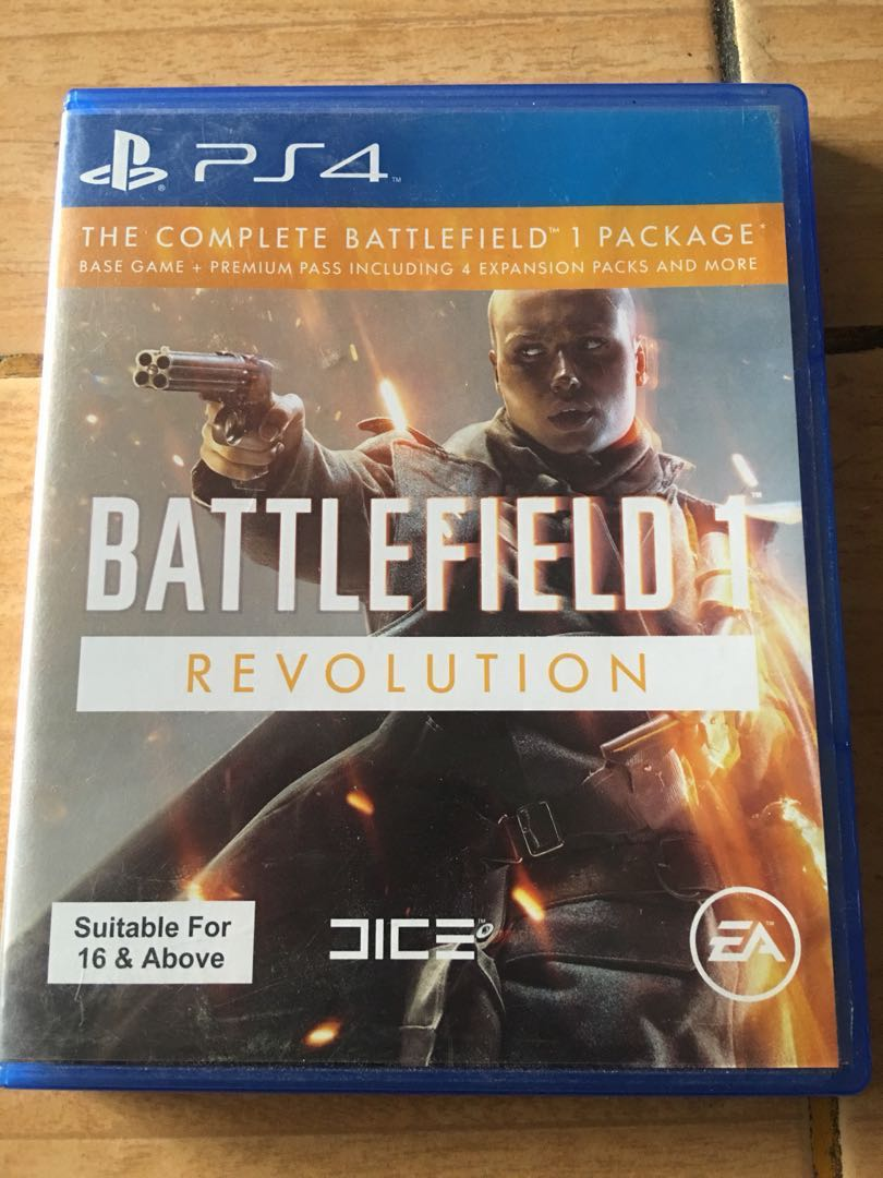 Ps4 Battlefield One Boleh Nego Video Gaming Games On Carousell Game 1 Photo