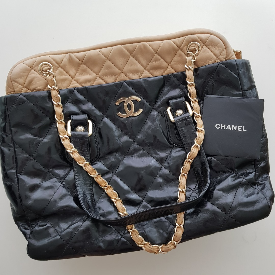 2094a5e10137 REDUCED - CHANEL PORTOBELLO LEATHER TOTE BAG, Luxury, Bags & Wallets ...