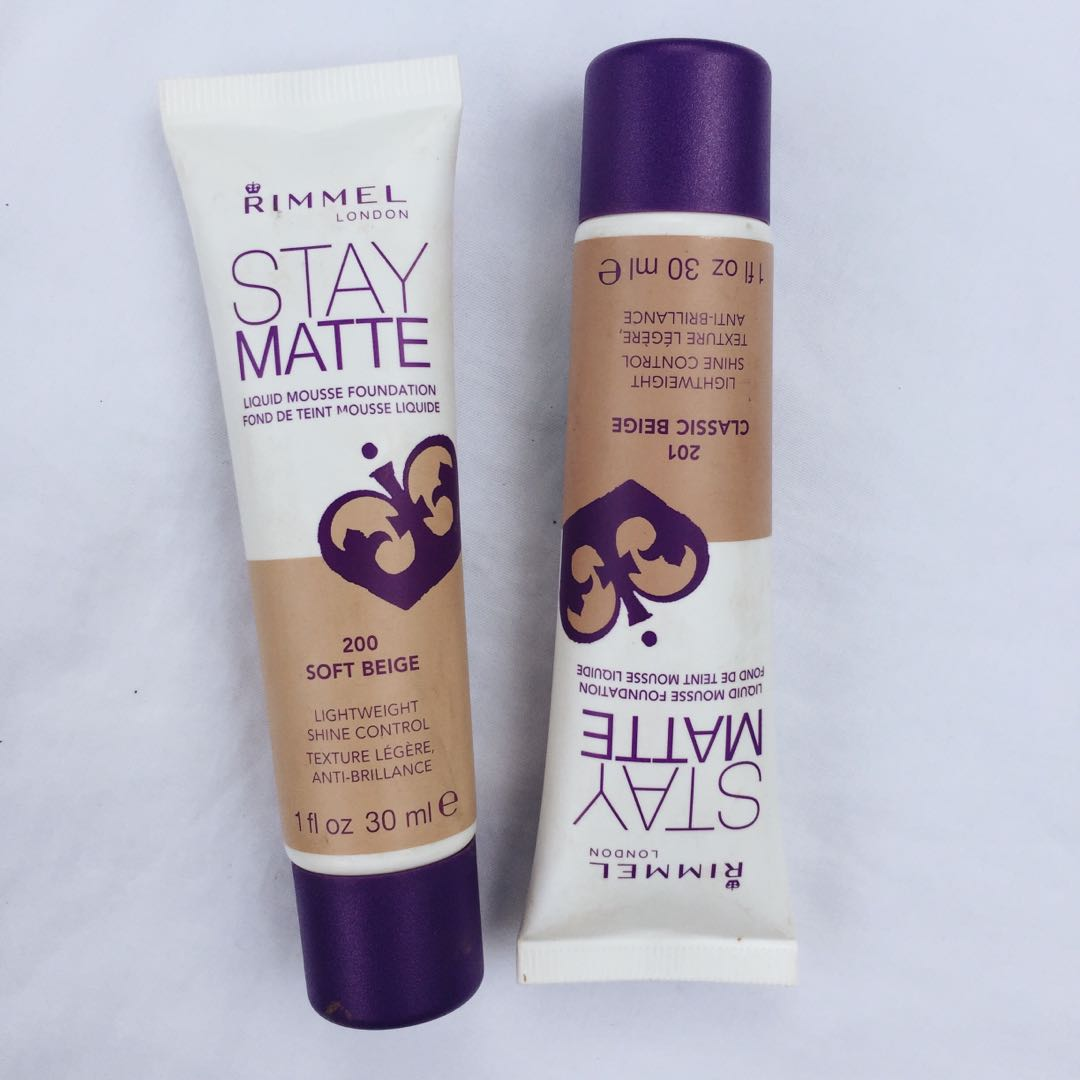 ... Rimmel Stay Matte Liquid Mousse Foundation Classic Beige Preloved Health & Beauty Makeup on Carousell