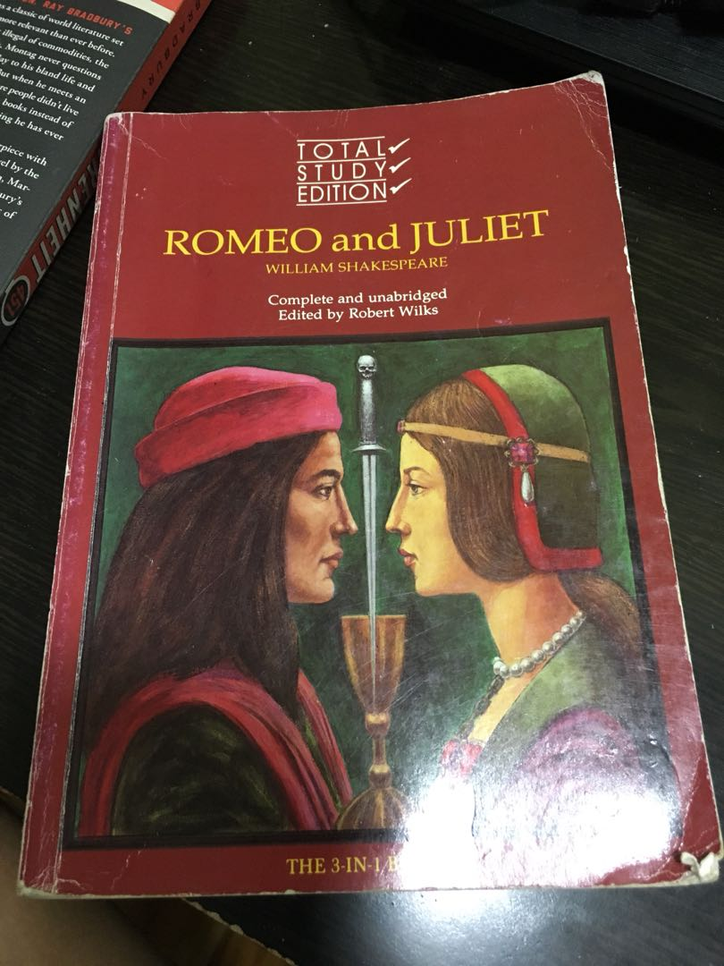 1550789a4 Romeo and juliet, Books & Stationery, Textbooks, Secondary on Carousell
