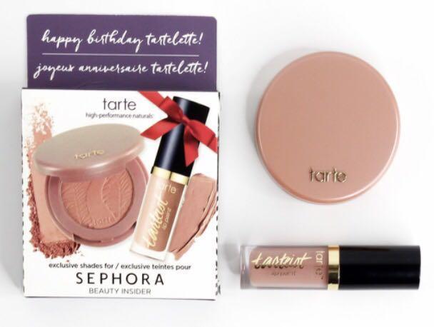 Sephora Tarte Birthday Gift Set Health Beauty Makeup On Carousell