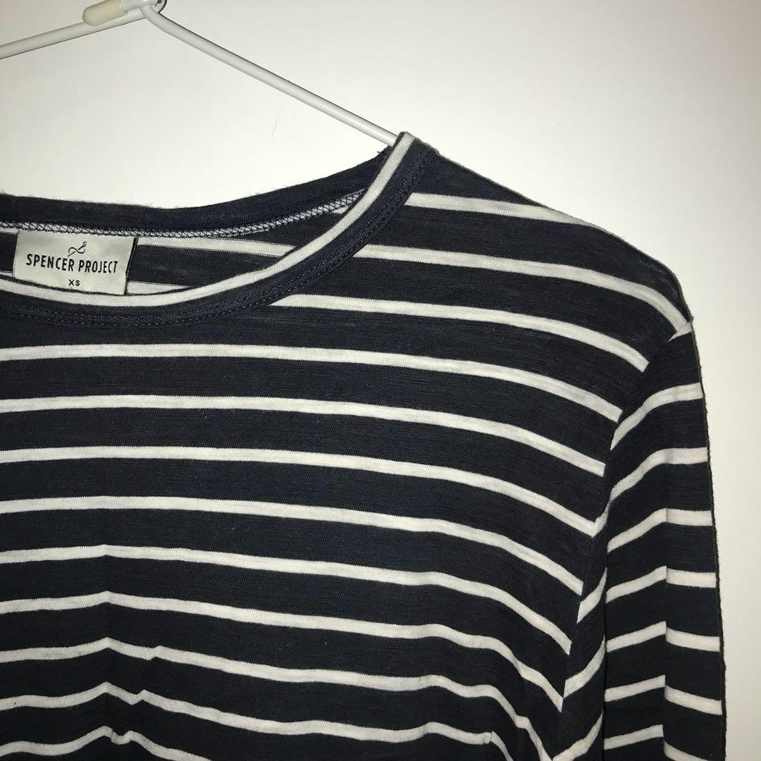 Spencer Project Navy Long Sleeve