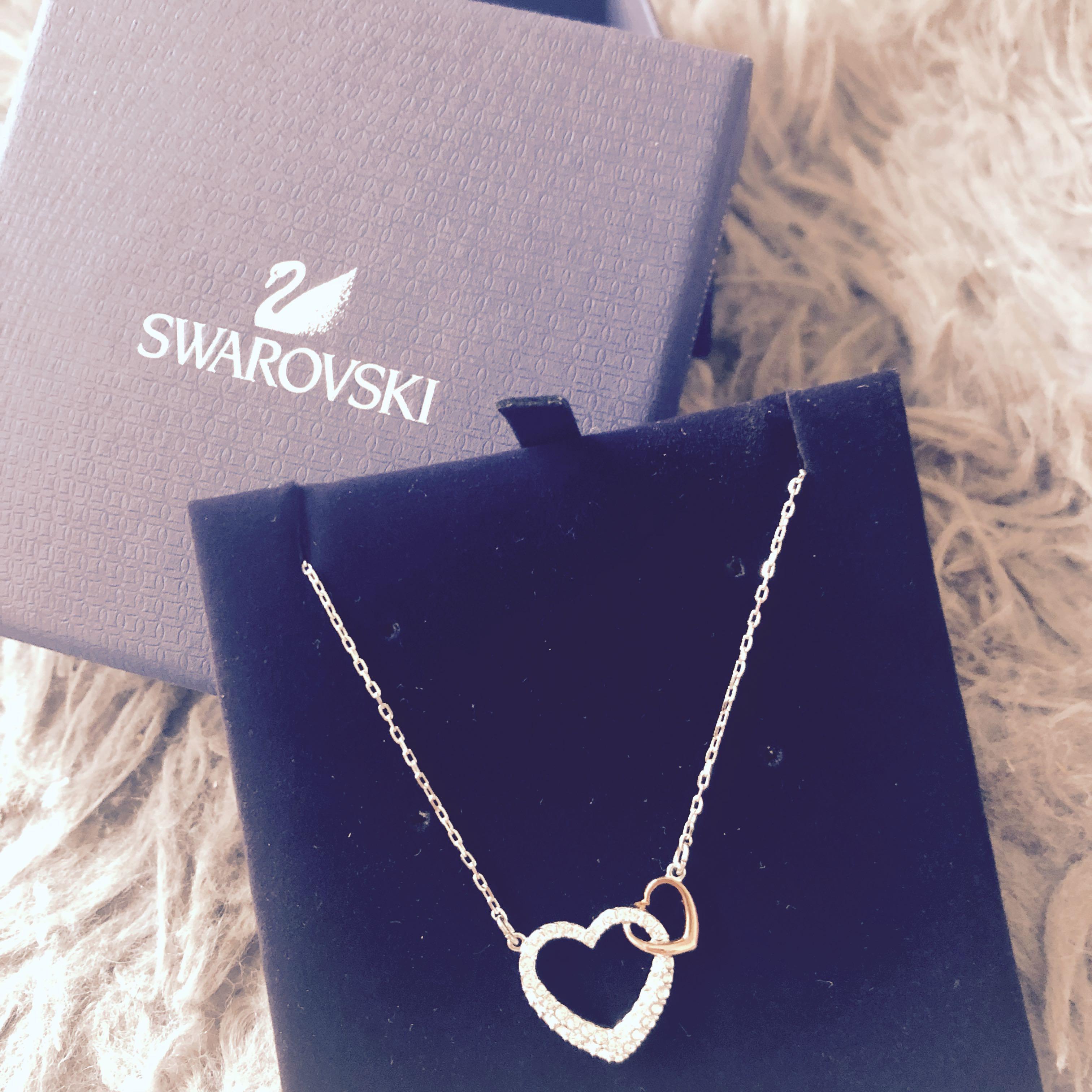 8b23f6922d0b2 Swarovski DEAR Necklace Small, Women's Fashion, Jewellery, Necklaces ...