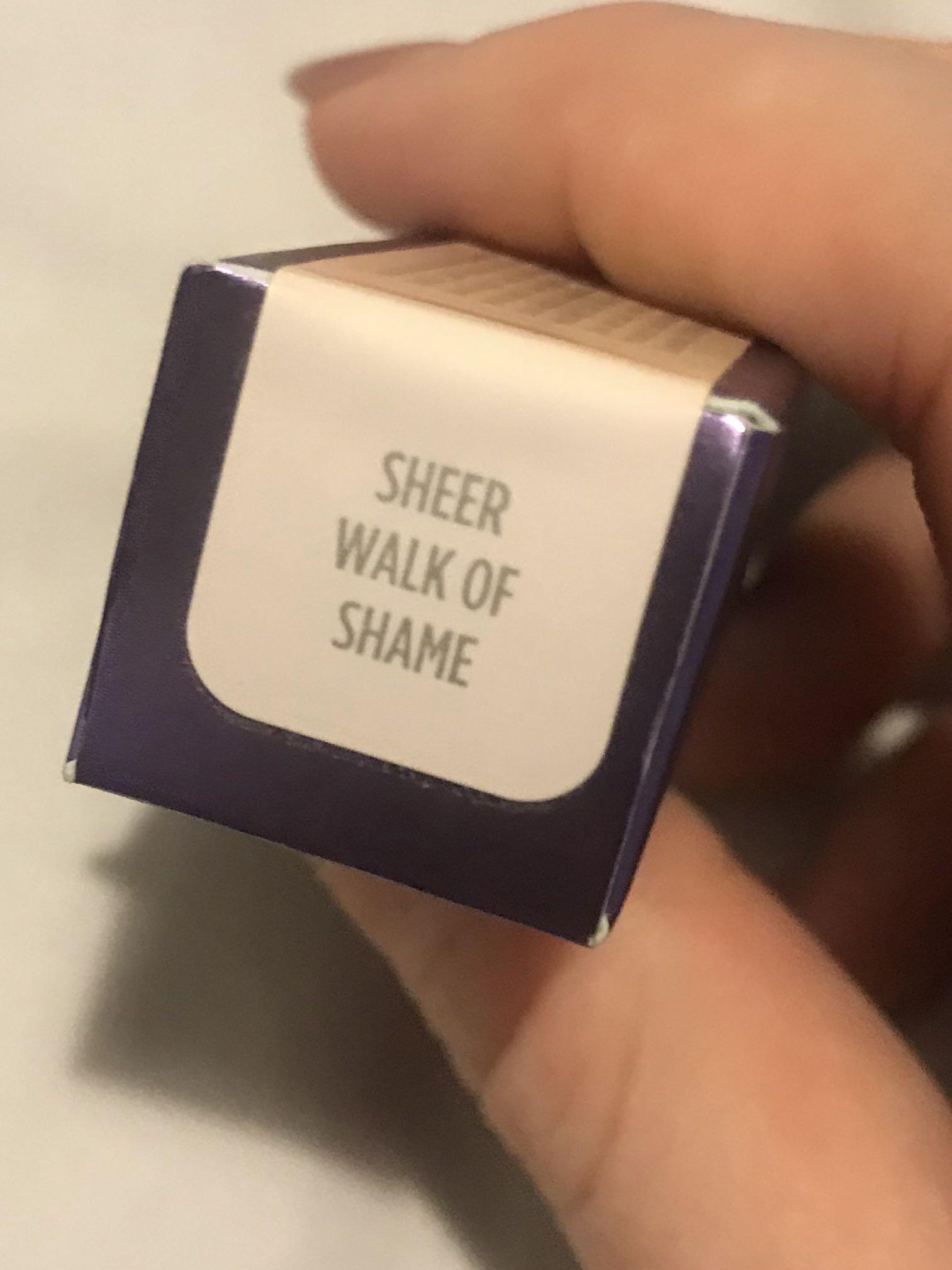URBAN DECAY. Brand New. Sheer Revolution Lipstick. Sheer walk of shame