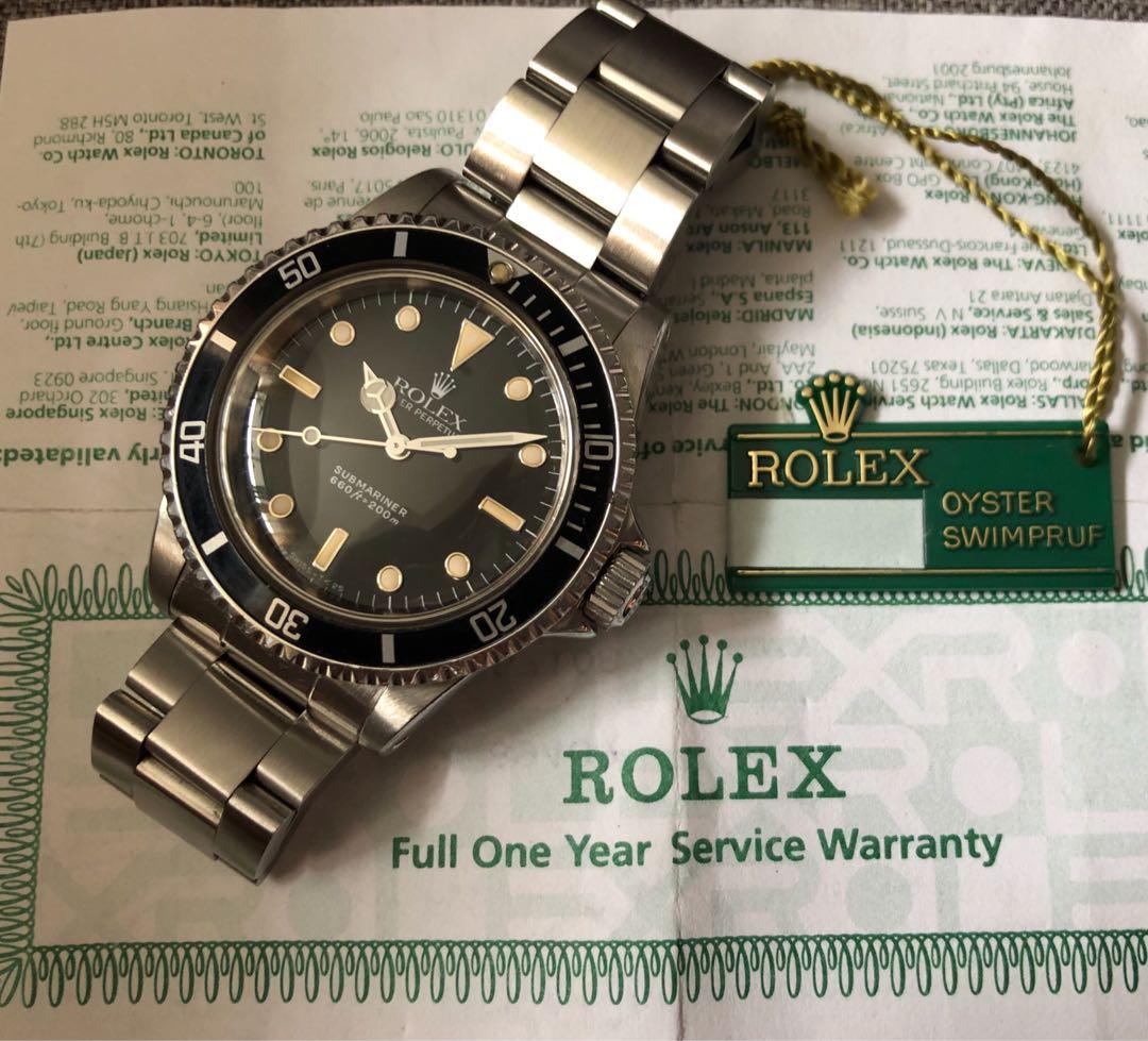 b3bd883edf1 Vintage 5513 Rolex Submariner
