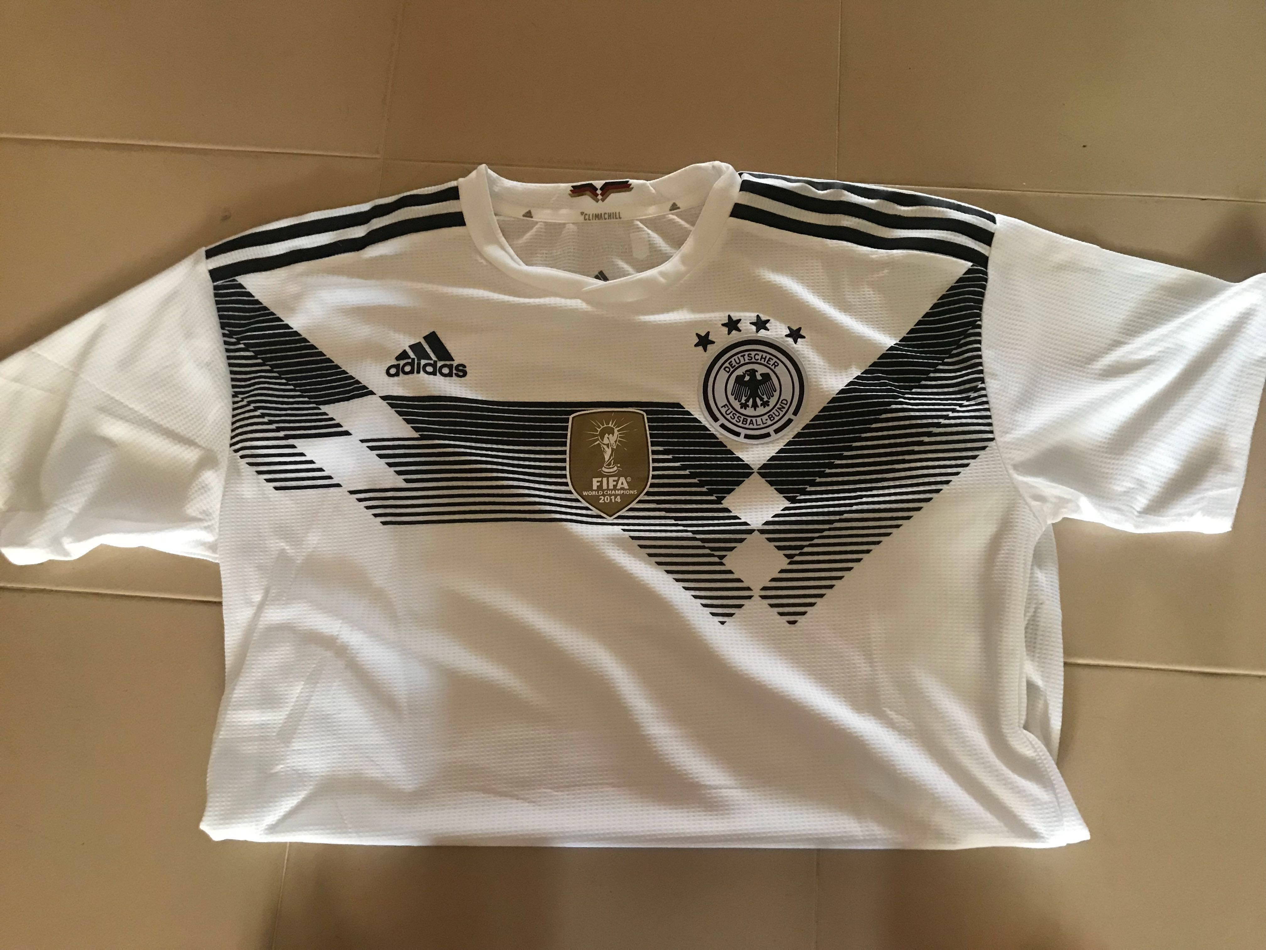 e42a00ead6b World Cup 2018 Germany Home jersey