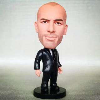 Zinedine Zidane Real Madrid manager Soccerwe Kodoto figurine collectibles