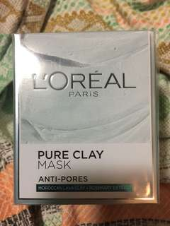 L'Oréal Pure Clay Mask Anti-Pores 毛孔級深層清潔50ml