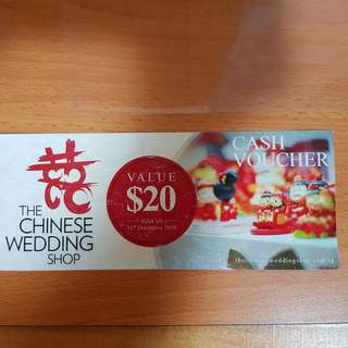 🚚 The Chinese Wedding Shop Voucher