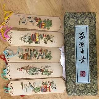書簽set (西湖十景)