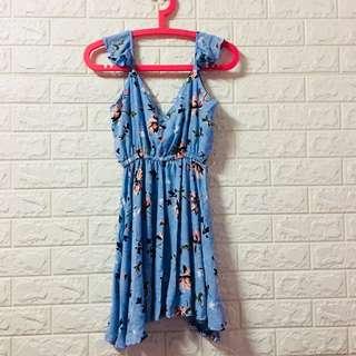 🌸Blue Floral dress