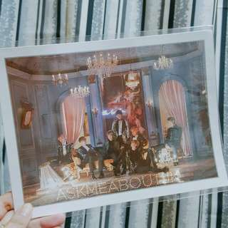 BTS Wings Concept Book Photo Frame (Blood Sweat & Tears version)
