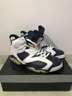 Air Jordan 6 Retro Olympic 2012 新淨