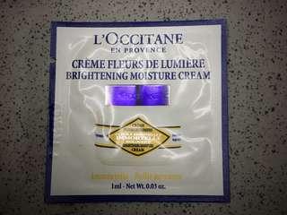 Loccitane Brightening Moisture Cream