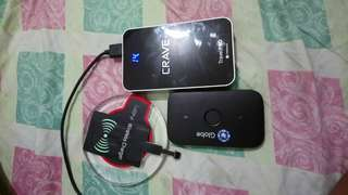 Power bank, wireless charger, pocket wifi
