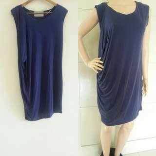 Zara navi dress