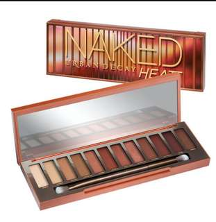 🚚 100% Authentic Urban Decay heat palette