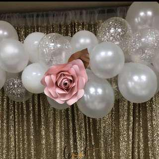 Balloons garland