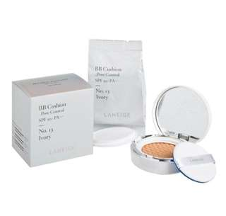 BNIB Laneige BB Cushion Whitening SPF 50+ NO 13 IVORY SHADE