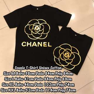 Chanel/Champion/Gucci Tee (READY STOCK)