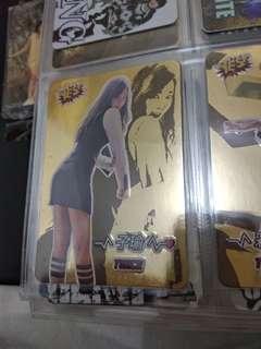 Twice 子瑜 金卡 專輯卡 yes card