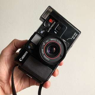 Canon AF35M Autoboy 38mm 2.8f lens