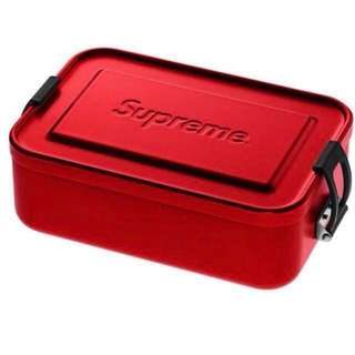 Supreme ss18 SIGG Metal Box Plus Large Size