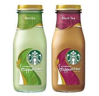 🆕Starbucks® Frappucino® Black Tea & Matcha Chilled Tea Drinks