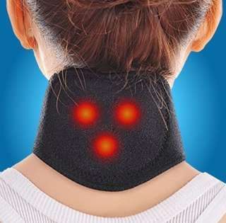 Heat Therapy With Tourmaline & Magnetic 3 In 1 Neck Support