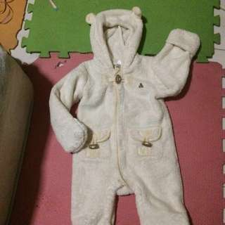 Baby gap frog suit repriced