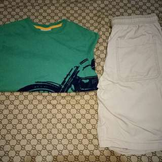 Cat&Jack Shorts and Anderson Top(Size 10-12y/o)